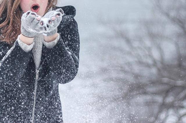 Kobieta i zima